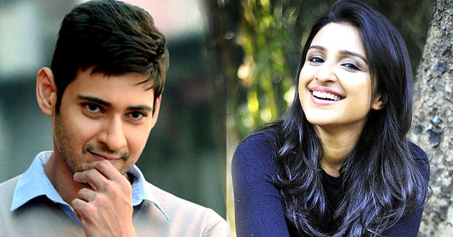Parineeti has signed Telugu film opposite Mahesh Babu