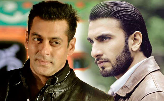 Salman wants to break chair on the head of Ranveer Singh