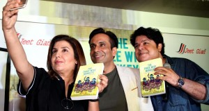 Sajid  Farah and David Dhawan has launched the book The three wise monkeys