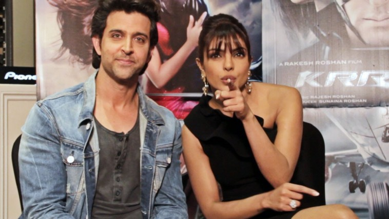 Hrithik Roshan wants Priyanka Chopar in Krrish 4