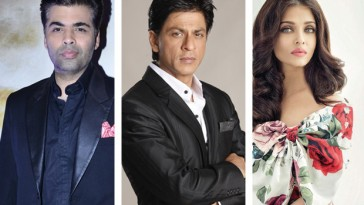 I am not making film with Shahrukh and Aishwarya says Karan Johar