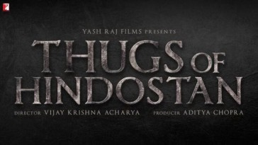 Poster of Film Thugs of Hindostan out