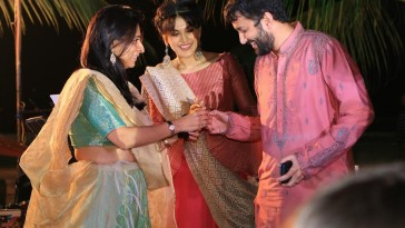 Taapsee Pannu gate crashed wedding Ceremony