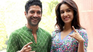 Shraddha Kapoor breaks her silence on live in relationship with Farhan