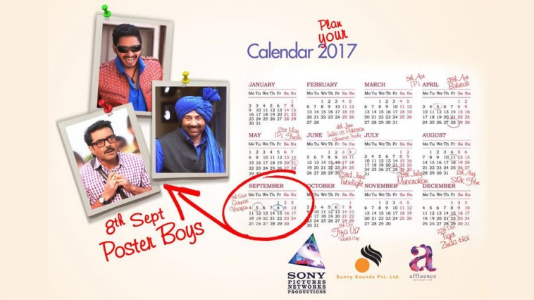 Film Poster Boyz to release on 8th September 2017
