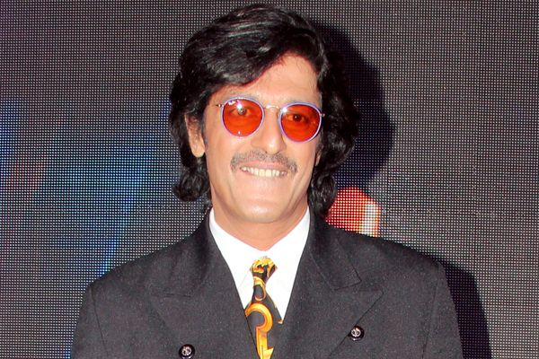 What is the real name of Chunky Pandey ?
