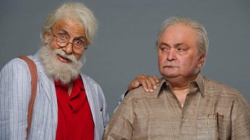 Amitabh Bachchan and Rishi Kapoor's look from 102 Not Out