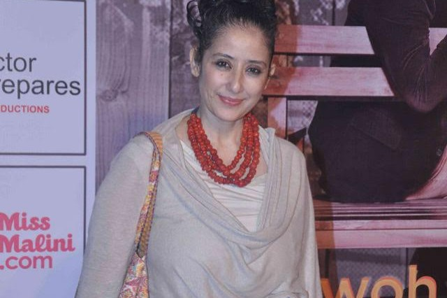 Actress Manisha Koirala to adopt Two Girls