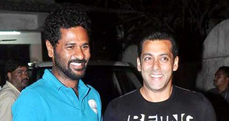 Prabhudeva might direct Salman Khan in Dabang 3