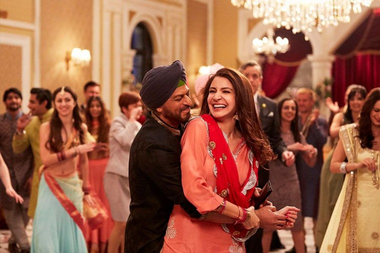 Film Jab Harry Met Sejal shows the great chemistry between Shahrukh and Anushka