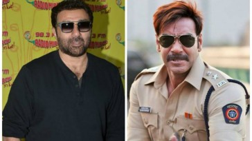Why Sunny Deol called Ajay Devgn ?