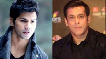 Varun would be the perfect choice for the remake of my film Love says Salman Khan