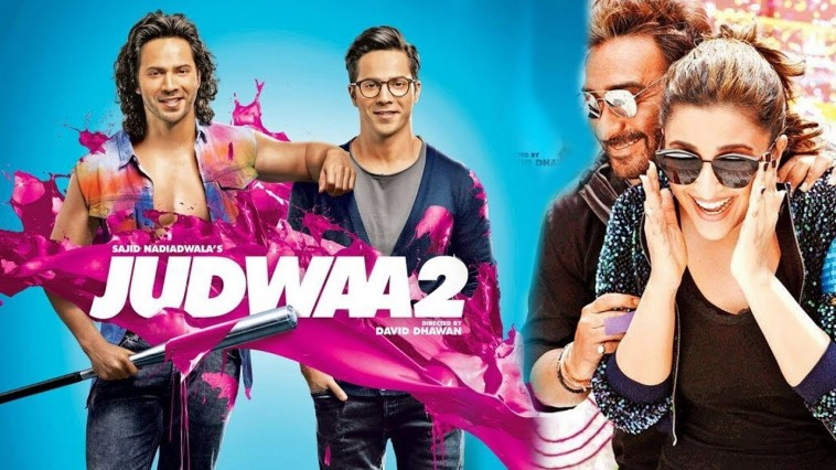 Trailer of Film Golmaal Again will be attached to Film Judwaa 2