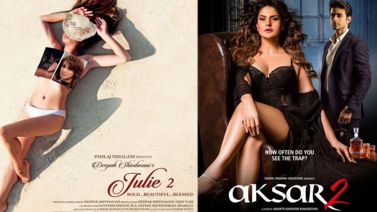 Julie 2 and Aksar 2 to clash at the box office on 6th October