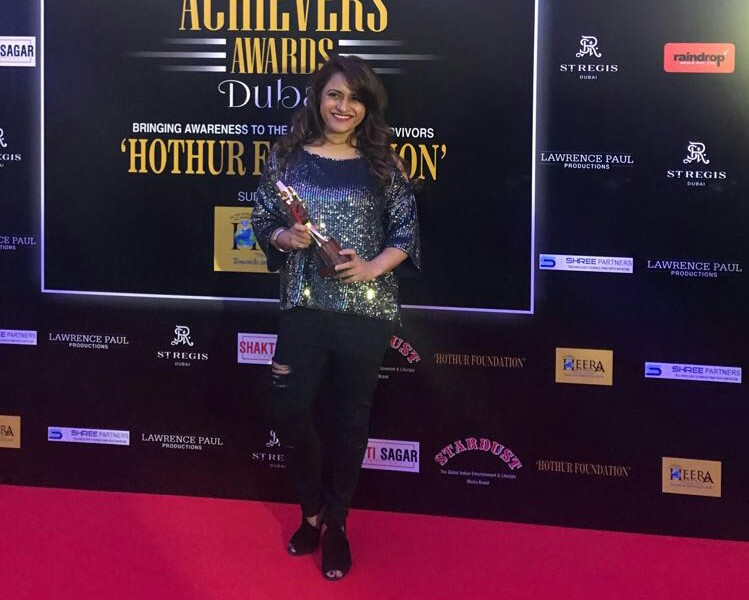 Rohini Iyer wins the stradust acheivers for the most influential media entrepreneur