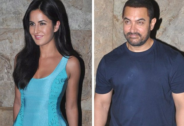 Katrina Kaif is upset with Aamir Khan