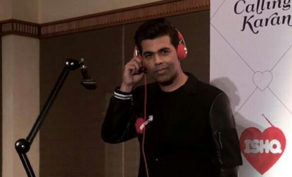 Karan Johar will play a love guru on the radio show