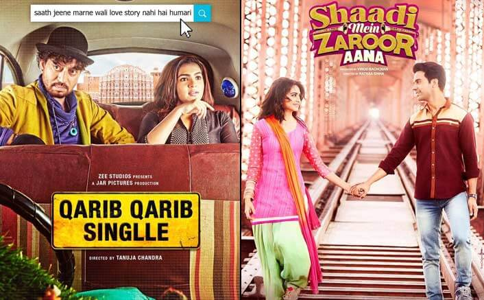 Box office report of Qarib Qarib Singlle and Shaadi Mein Zaroor Aana