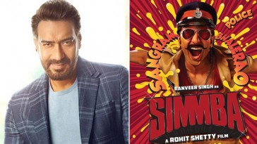 Ajay Devgn to star in Rohit Shetty's film Simmba ?