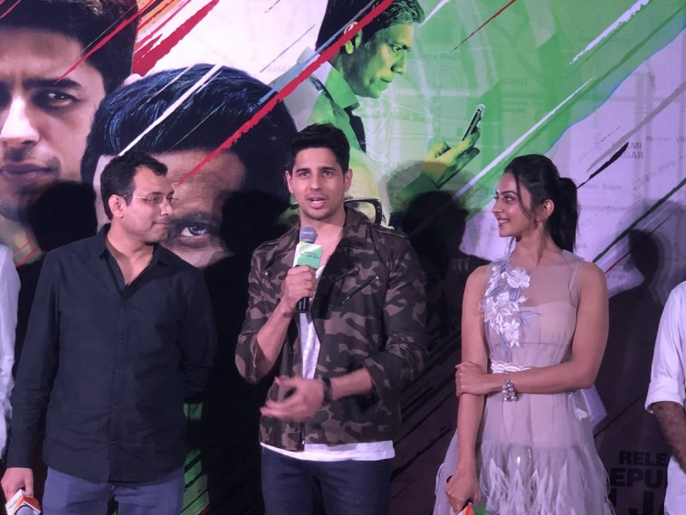 What Siddharth Malhotra said about the clash between Aiyaary and Padman