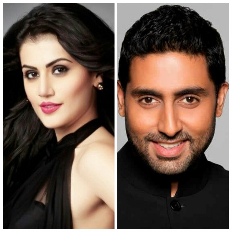 Taapsee Pannu to star opposite Abhishek Bachchan in film Manmarziyan