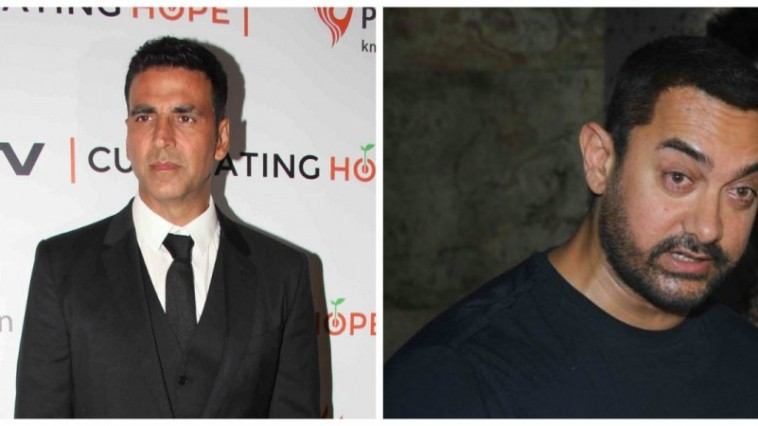 Actor Aamir Khan is not replacing Akshay Kumar