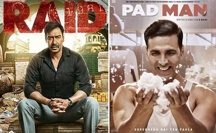 Raid beats Akshay's film Padman at the box office