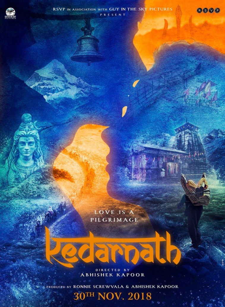 Film Kedarnath to release on 30th November 2018
