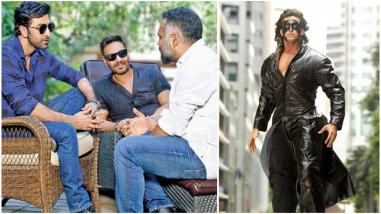 Ajay- Ranbir's untitled film to clash with Krrish 4 on Christmas 2020