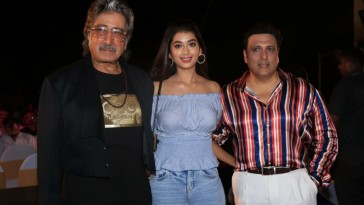 Govinda launches the tittle song of his film Rangeela Raja